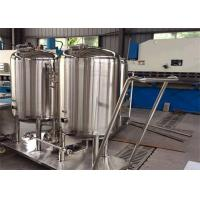 Wholesale Milk And Juice Processing Line CIP Cleaning System / Separate CIP Systems for Pharmaceutical from china suppliers