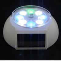 Wholesale OEM Solar Powered Gadgets Solar Rotating Display Stand Colorful Lights from china suppliers