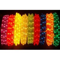 Wholesale led rope ligt for outdoor 5050smd  60pcs/m ip68 muticolors with controller from china suppliers