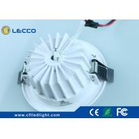 Quality No Flicker LED Recessed Downlight , Led Kitchen Ceiling Downlights 100 LM / W for sale
