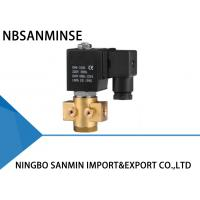 Wholesale Bistable P3 Brass Solenoid Valve 1 / 4 Inch High Frequency NBSANMINSE Brand from china suppliers