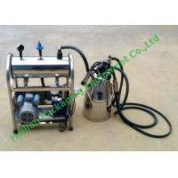 Wholesale 50Kpa Vacuum Degree Vacuum Pump Single Bucket Milking Machine , 110 Volt - 220 Volt from china suppliers