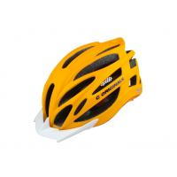 Wholesale Orange Bike Helmet Specialized / Simple Bicycle Helmet Visor 24 Vent Holes from china suppliers