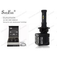 Quality Intelligent Cooling Automotive LED Headlights 40W For Off Road SUV AT TOYOTA for sale
