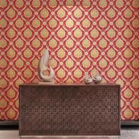 Buy cheap Floral Soundproof  Damask  European Style PVC Embossed Wallpaper from wholesalers