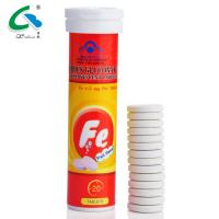 Wholesale Label Customized White Effervescent Tablets With Fruit Flavour HALAL Certified from china suppliers