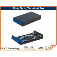 Wholesale 8 Core Indoor Fiber Optic Terminal Box / Fiber Optic Distribution Box for FTTH Network from china suppliers