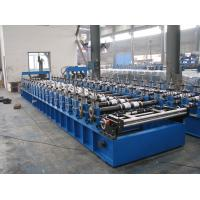 Wholesale 0.6-1.6 mm Metal Deck Forming Machine with Product Run Out Table / Auto-stacker from china suppliers