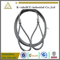 Wholesale 7*19 6.0mm Pressed Galvanized Steel Wire Rope Sling from china suppliers