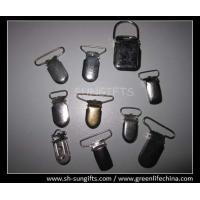 Wholesale Metal alligator clip, metal suspender clip, ID badge accessories from china suppliers