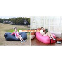 Wholesale Inflatable Bean Bag hangout sleeping bag for camping vacation from china suppliers