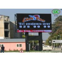 Wholesale Playgrounds P10 Outdoor Full Color LED Display Lightweight 160mm x 160mm from china suppliers