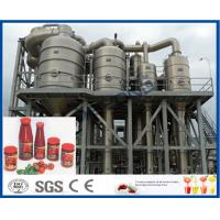 Wholesale Stainless Steel Tomato Paste Processing Plant For Tomato Sauce Production Process from china suppliers