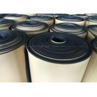 Wholesale Black  Rubber Foam Insulating Roll High Density Adhesive 10mm Thermal Resistant from china suppliers