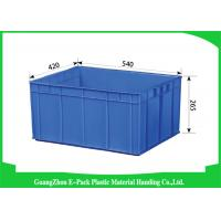 Wholesale Packaging Storage Plastic Stackable Containers Recycle Long Service Life from china suppliers