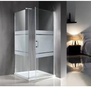 Wholesale Popular Custom Glass Shower Enclosures , Glass Shower Door Enclosures from china suppliers
