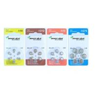 Wholesale high capacity Zinc Air button battery / Hearing Aid Batteries A10 /A312/ A675(P)/ A13  from china suppliers