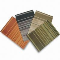 China Textiline Placemats, Made of Textile with 30% Polyeser and 70% PVC, Available in various colors on sale