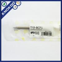 Wholesale Hakko T12-BCF1 soldering iron tips for Hakko FX950/951/952 soldering station, FM2027/2028/FX-9501 soldering iron from china suppliers