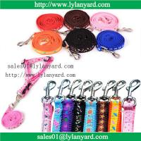Wholesale Pet Dog Nylon Leash Small Large Dog Rope Teddy Chest Rope Harness from china suppliers