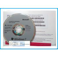 Wholesale Genuine Microsoft Windows 7 Pro Retail Box 64 Bit DVD / COA License Key from china suppliers