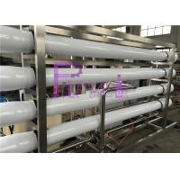 Wholesale UV Sterilizer Mineral Filtration Water treatment System With Stainless Steel Water storage tanks from china suppliers