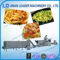 Wholesale Stainless steel industrial pasta macaroni machine single screw extruder from china suppliers