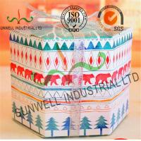 Wholesale Personalized Hexagon Cardboard Food Packaging Boxes With Ribbon Bow Decoration from china suppliers