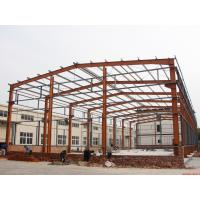 Quality Prefabricated Industrial Building Steel Structure Shed Lightweight Fire Resistance for sale