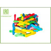 Wholesale Colorful Wooden Craft Sticks Kids DIY Tools With FSC Certificated from china suppliers