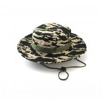 Wholesale 100% Cotton Fisherman Bucket Hat With Strings Plain Pattern Quick Dry from china suppliers