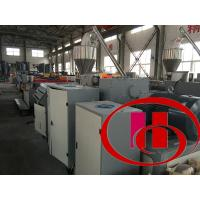 Wholesale Wood Plastic Composite Board/Sheet Making Machine (PVC powder+wood/rice husk powder) from china suppliers