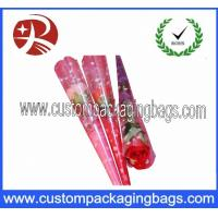 Wholesale BOPP Clear Fresh Flower Sleeve Plastic Packaging Bags 30-100 microns Thickness from china suppliers