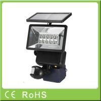 Quality High quality security auto-sensing LED motion sensor outdoor solar flood light for sale
