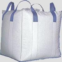 Wholesale Cross Corner Conductive Big Bag FIBC For Packing Soybean Meal, 3000 LBS Capacity from china suppliers