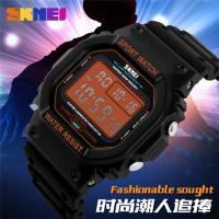 Quality Promotion Electronic Kids Sport Watches ABS Plastic Orange Nickel Free for sale