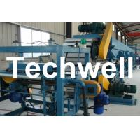 Wholesale Double Belt Continuous PU Sandwich Panel Production Line / Sandwich Panel Machine from china suppliers
