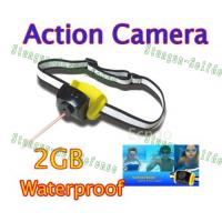 Wholesale 2MP CMOS 2GB helmet belt Waterproof Sports Action Camera T-30  from china suppliers