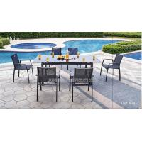 Wholesale Outdoor / Indoor Patio Furniture Dining Sets , Garden Dining Table And Chairs from china suppliers