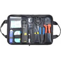 Wholesale Variety Convenient Black Fiber Optic Hand Tool Bags / Fiber Termination Kit With Zipper from china suppliers
