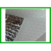 Wholesale White Poly Thermal Insulation Material With Metallized Foil Film , Sun Reflective Insulation wrap from china suppliers