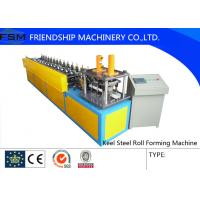 Wholesale U Angle Roll Forming Machine , 6000x800x1200mm Size Metal Forming Machinery from china suppliers