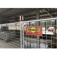 Wholesale Temporary fencing panels 2100mm x 2400mm 14 microns zinc layer hot dipped galvanized from china suppliers