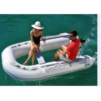Wholesale PVC / Hypalon Clear Bottom Inflatable Boat 3 Chamber TF270 With Clear View from china suppliers