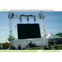 Wholesale High Resolution p6 LED  advertising  display board With Steel Cabinets from china suppliers