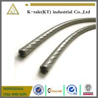 Wholesale Plastic Coated PE PVC Covered Stainless Steel Rope from china suppliers