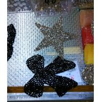Wholesale Hot fix rhinestone patch star shape iron on patch with crystals from china suppliers