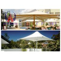 Wholesale Membrane Sail Lightweight Umbrella Sun Shade Cantilever Garden Parasols 5m × 6m from china suppliers
