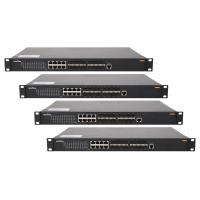 Wholesale Web - smart Core network switch 24 port 440 * 225 * 44mm size 802.1Q VLAN managed switch from china suppliers
