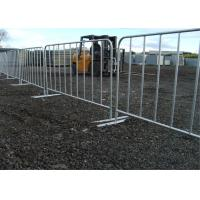 Wholesale Full Hot Dipped Galvanized Crowd Control Barriers 1100mm X 2200mm from china suppliers
